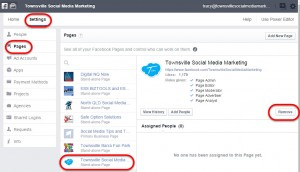 FBM Remove Page from Facebook Business Manager
