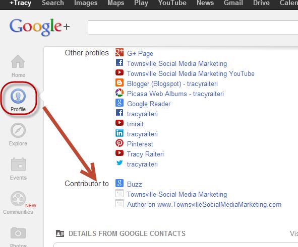 Google Authorship Add Contributor